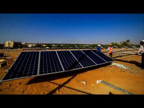 Time-lapse of Karachi Golf Club Solar Power Project