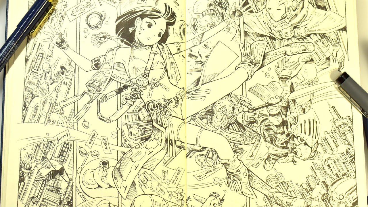 モレスキンスケッチブック継続中 MOLESKINE sketchbook