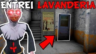 BUGANDO O JOGO E ENTRANDO NA LAVANDERIA DA FREIRA! - Evil Nun - 1.1.6 - (JOGO TERROR ESTILO GRANNY)