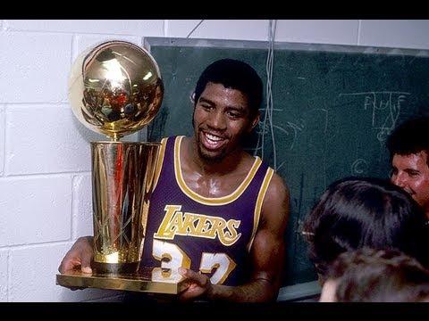 Magic Johnson: NBA Finals Highlights (1980-88)