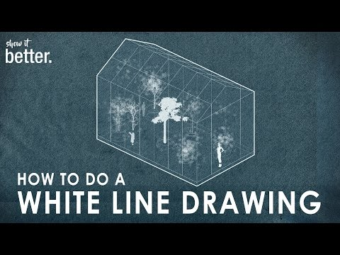 Architecture Style Drawing in Photoshop Tutorial