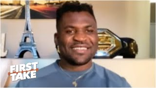 Francis Ngannou on KO win vs. Stipe Miocic and potential Jon Jones fight | First Take