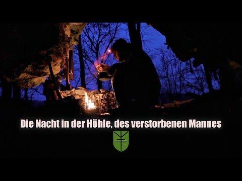 Die Nacht in der Höhle, des verstorbenen Mannes.