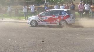 MRF car rally at sandip foundation