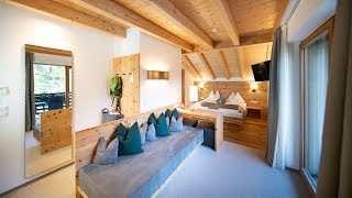 Swiss Pine Double Room | La Casies | mountain living hotel