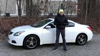 Часть 2: Nissan Altima Coupe - Тест Драйв (Ниссан Алтима Купе)