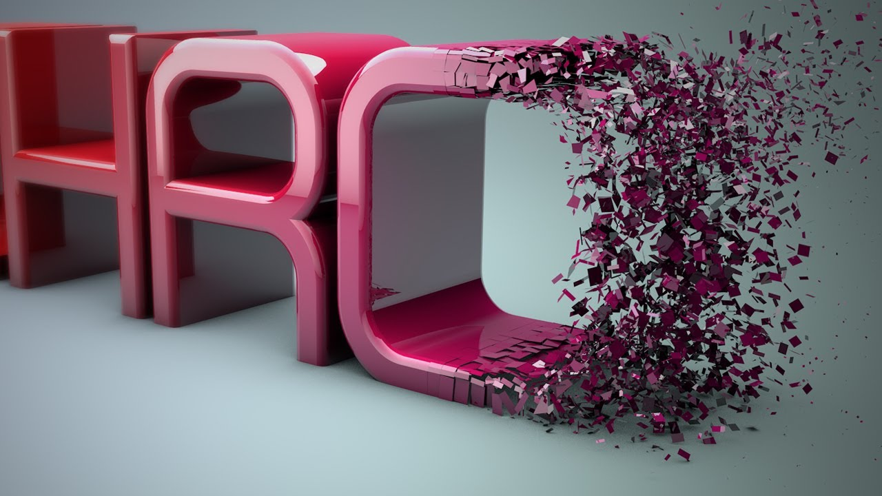 Cinema 4D r16 Tutorial: Particles Transition to Text - PolyFX