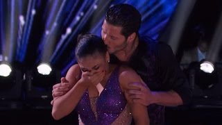 Laurie Hernandez Breaks Down Over Her Grandmother's Death During 'DWTS' Performance