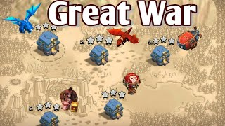 Great War Best TH12 War 3 Star Attack Strategy 2018 | Learn How to 3 Star in Clan War