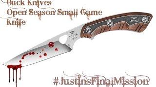 Buck Open Season Small Game Knife