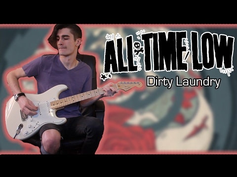 All Time Low - Dirty Laundry (Guitar & Bass Cover w/ Tabs)