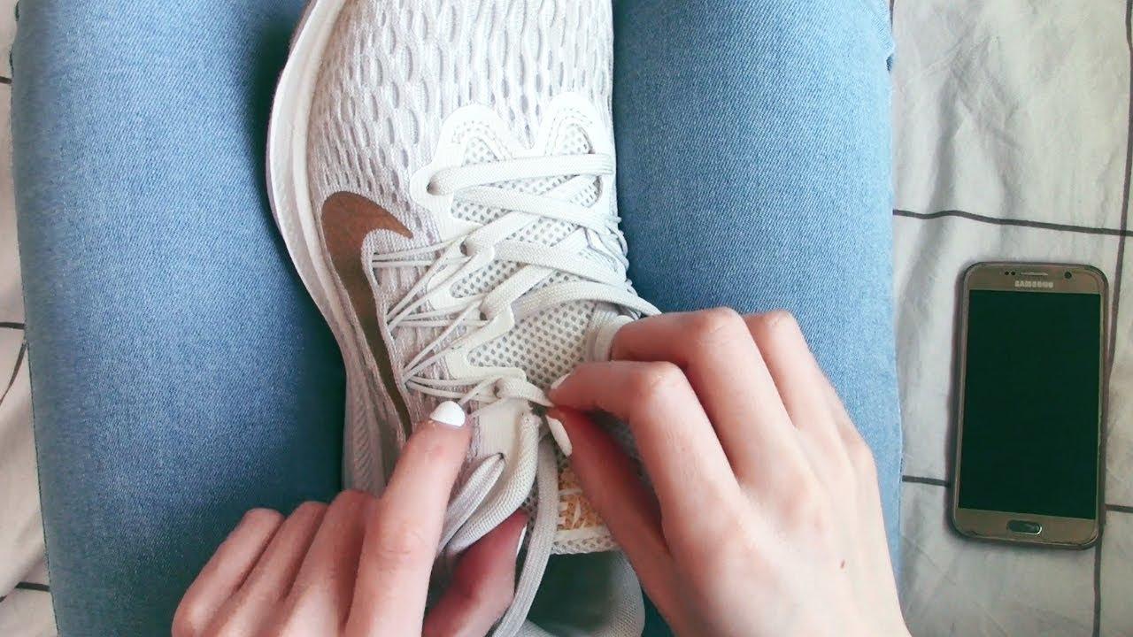 Relación dilema Elocuente  Como poner cordones a Nike Zoom Winflo 5 - YouTube