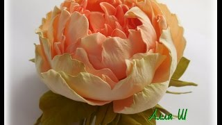 МК Цветы из фоамирана