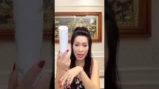 NSƯT Trịnh Kim Chi Tắm Trắng Tại Nhà với Skin AEC