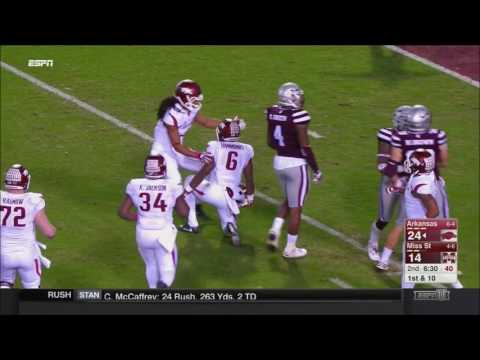 Arkansas vs. Mississippi State 2016
