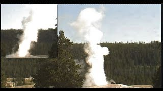 2 Big Blasts@Old Faithful!  8 +8:30 AM  GMT July 15, 2017