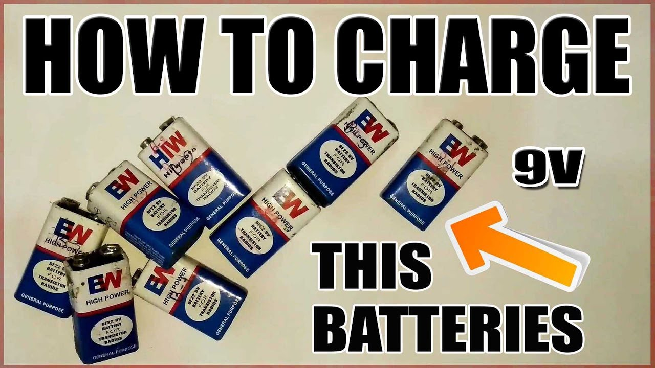 How To Charge 9v Batteries Updated Youtube Diagram Get Free Image About Also 9 Volt Solar Battery Charger Circuit