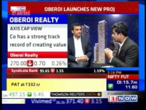 Mr. Vikas Oberoi - CMD, Oberoi Realty announcing the launch of Sky City by Oberoi Realty at Borivali