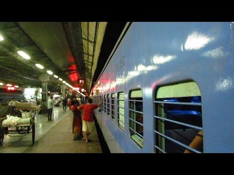 LHB Intercity; Ahemdabad Mumbai Central Karnavati Express Full Journey Part I- Ahemdabad Jn. Surat