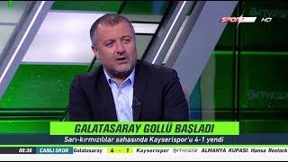 Mehmet Demirkol Galatasaray 4-1 Kayserispor Maç sonu Yorumları 14 Ağustos 2017
