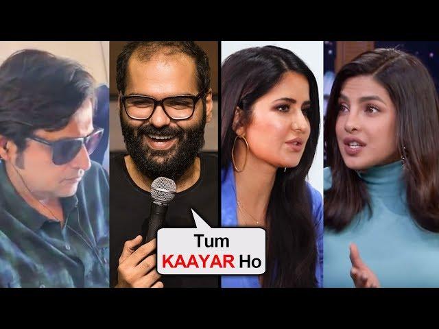 SHOCKING   Bollywood Celebs With FLIGHT CONTROVERSY   Kunal Kamra, Katrina Kaif, Priyanka Chopra