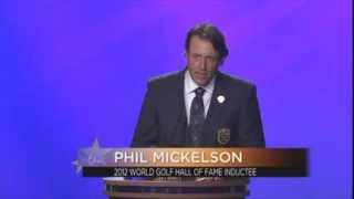 2012 Induction: Phil Mickelson