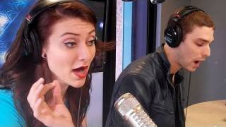 karmin 6 foot 7 foot cover lil wayne performance on air with ryan seacrest