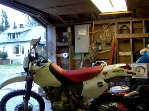 XR250 (98) Start up