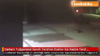 Darbeci general Semih Terzi'nin Vurulduğu An (EN NET GÖRÜNTÜ)
