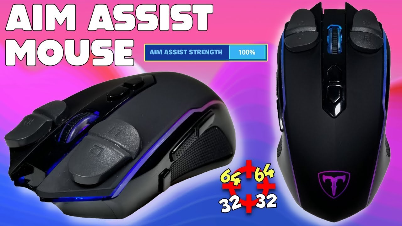 I built the BEST GAMING MOUSE in Fortnite | AIM ASSIST MOUSE *L2 R2*
