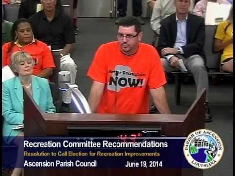 Parish Council - June 19, 2014