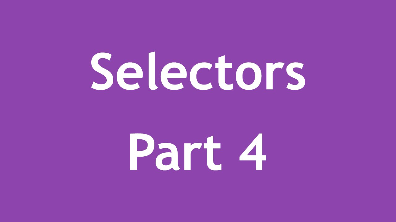 [ Css3 In Arabic ] #52 - Selectors - Only-Child, Only-Of-Type, Selection