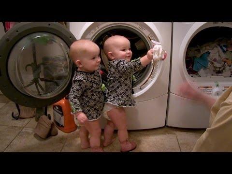 Twin Babies Little Helpers