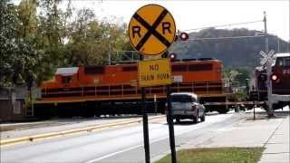 Unknown Train in Winona, Minnesota
