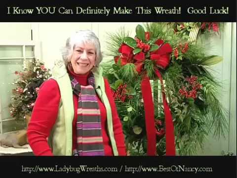 Match Fresh Greens to Your Artificial Wreath- Nancy Alexander (edition 2016)
