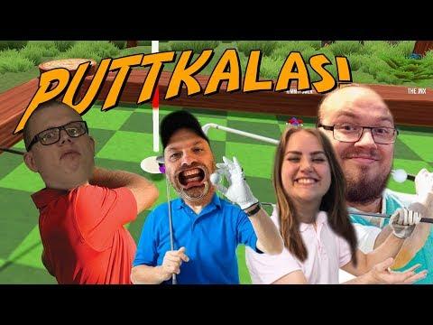PUTTFEST | Ufosxm, KimmyPower & Jnx spelar Golf med figgehn