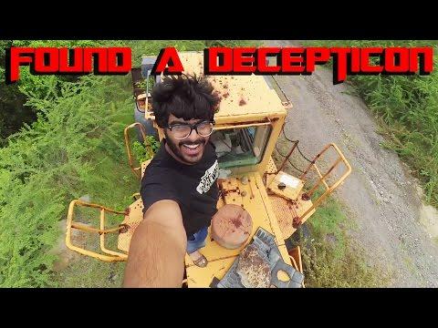 Found a DECEPTICON | Montserrat | Adventure