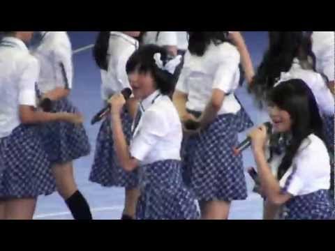 [fancam] JKT48 - Kimi No Koto Ga Suki Dakara , Hall A senayan 130512