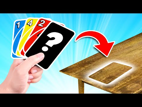 The BEST CHEAT In UNO! (win Every Time)