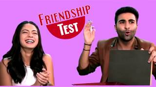 Exclusive | BFF Quiz with Qaidi Band actors Adar Jain and Anya Singh!