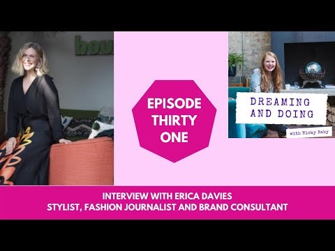 Interview with Erica Davies | Nicky Raby (podcast-Dreaming and Doing)