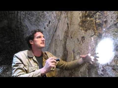 Battle Castle: host Dan Snow explores evidence of medieval plaster at Crac des Chevaliers