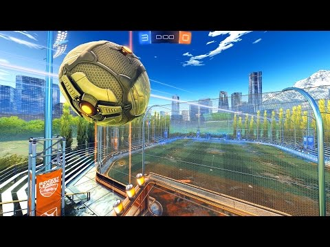 WE HIT THE BALL OUT OF THE MAP! - ROCKET LEAGUE MODDED RUMBLE