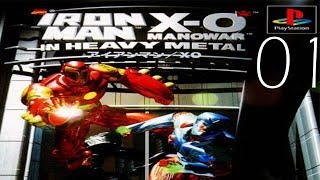 Iron Man and X-O Manowar in Heavy Metal - Mission 1 - Walkthrough