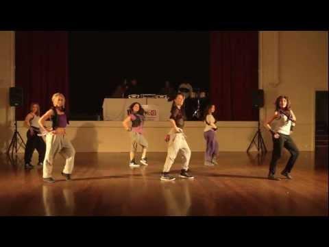 Anne's Reggeaton / Dancehall Group Performance - Adelaide Salsa Expo