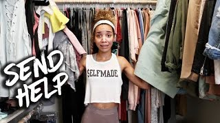 Organizing My Closet   Major Declutter!