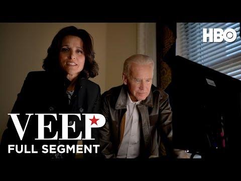 Julia Louis-Dreyfus and Joe Biden: White House Correspondents' Dinner 2014