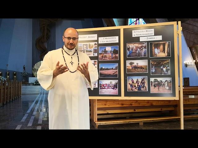 O. Marcin Perfikowski - Ojciec Biały Misjonarz Afryki pozdrawia naszą parafię