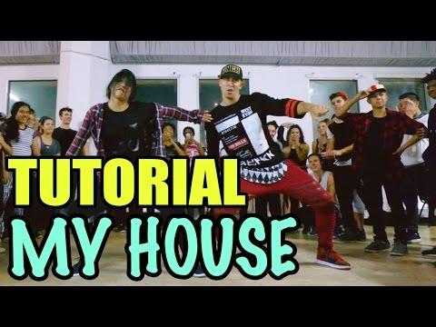 """MY HOUSE"" - Flo Rida Dance TUTORIAL | @MattSteffanina Choreography (Int Hip Hop)"