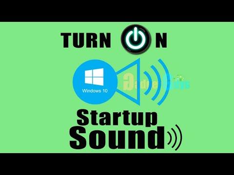 Turn on windows 10 startup sound     GadgetGuys